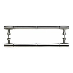 Top Knobs - Top Knobs Nouveau BambooBack to Back Door Cabinet Pull 18 Pair - Top Knobs Nouveau BambooBack to Back Door Pull 18 Pair