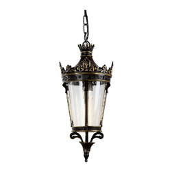 Outdoor SP5614 Metal and Bubble Glass Wall Sconce -