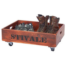 Eclectic Storage Bins And Boxes by Buff On Barrels