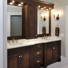 Traditional Bathroom by Old World Kitchens & Custom Cabinets