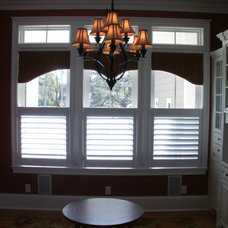Eclectic Window Treatments by Interior VUES/ Floor 2 Ceiling Designs, LLP