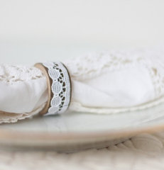 traditional napkin rings by Etsy