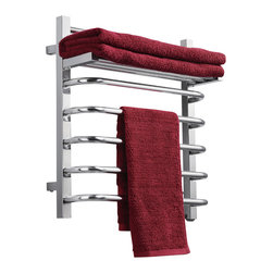Virtu USA - Virtu USA Koze Collection VTW-118A Towel Warmer - Koze, by Virtu USA, combines technology and comfort to bring you a luxurious european experience with towel warmers. Caress yourself in the coziness of a soft and warm towel after a refreshing shower or a tranquilizing bathe. Koze towel warmers are crafted from quality brushed stainless steel and gracefully finished in a variety of options for a gorgeous appeal.
