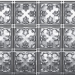 Decorative Ceiling Tiles - Shanko - Stainless Steel - Wall and Ceiling Patterns - #210ss - DecorativeCeilingTiles offers a great selection of backsplashes. Use them in the kitchen, by your grill or anywhere else you'd like to feature an elegant way to protect your walls and show off your home.