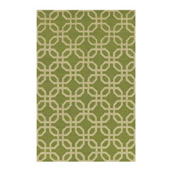 Dalyn Rugs Indoor/Outdoor Terrace Rug, Lime