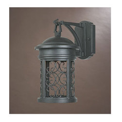 """Designers Fountain - Designers Fountain 31111-ORB 1 Light 7"""" Wall Lantern from the Dark Sky Barringto - Features:"""