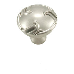 RK International CK 155-P Cabinet Knob - Nottingham Series - Swirl Edges - Pewte - This pewter finish cabinet knob with swirl edges design is part of the Nottingham Series Cabinet Hardware Collection from RK International and features a perfect blend of craftmanship in traditional and contemporary design to complement any decor.