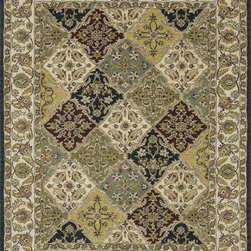 "Loloi Rugs - Loloi Rugs Maple Collection - Multi, 7'-9"" x 9'-9"" - Transform your home into a manor steeped in elegance and tradition with the majestic Maple Collection. These timeless Persian designs carry the rich heritage of centuries of carpet making in each arabesque, stylized flower and intricate border. Maple Collection rugs are hand-tufted in India of 100-percent wool so they are eco-friendly and mindfully crafted with sustainable materials. With colors as rich as these, you will feel like nobility every time you walk into your home."