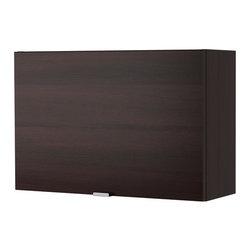 IKEA of Sweden - LILLÅNGEN Wall cabinet with 1 door - Wall cabinet with 1 door, black-brown
