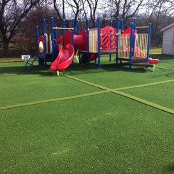 SYNLawn Playground Surfaces - School Playground!