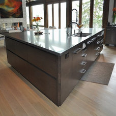 Contemporary Kitchen by Accent Custom Furniture Ltd.