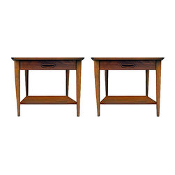 lane - Consigned 1970s Lane Side TablesStunning Mid-Century Modern. Side tables - Stunning Mid-Century Modern. Side tables with nice sculptural design and in good condition.