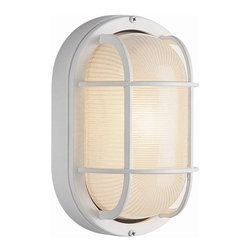 Transglobe - Trans Globe 1-lt Outdoor Wall Sconce - Trans Globes standard collection of bulkhead lighting is all function and form.
