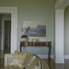 Eclectic Living Room by Elizabeth Hagins Interior Design