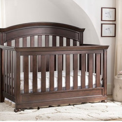 Simmons Kids - Simmons Kids Castille Crib N More - 317180-915 - Shop for Cribs from Hayneedle.com! Beautiful and practical the Simmons Kids Castille Crib N More is made to grow with your child. Crafted from solid wood this crib features a special multi-step finish which includes sanding staining and glazing by hand. Available in your choice of gorgeous nontoxic finishes this JPMA and ASTM certified crib converts to a toddler bed daybed and a full-size bed so your child can use it from the time she's born until she's ready to move out. Its metal mattress support system features three different positions so you can lower the mattress as your baby grows. You'll love the round feet inset panels at the base and headboard and old world charm which gives this crib a beautiful classic look that won't go out of style. Additional Features Multi-step finish is hand applied Metal mattress support system with 3 positions Tested for lead and other toxic elements Heirloom quality construction Daybed/toddler guardrail sold separately Crib conversion rails sold separately Simmons Kids: The Natural Choice for BabyFrom a company equated with a good night's sleep come the same high-quality products geared for babies and kids. Exciting lines and collections offer the latest and enduring styles for the nursery and the years beyond. Convertible cribs beautiful dressers and chests and everything else you can imagine for the nursery is well-crafted by Simmons. Best of all every piece of Simmons Kids Furniture meets or exceeds federal safety standards.