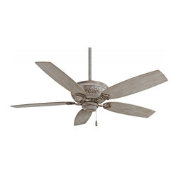 Minka-Aire - Minka-Aire Classica Driftwood Ceiling Fan - This Ceiling Fan is part of the Classica Collection and has a Driftwood Finish.