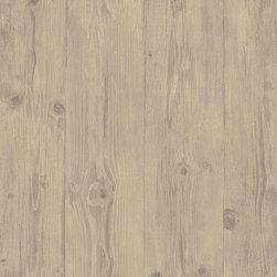 Norwall - Faux Wood Wallpaper Double Roll - 1 Double Roll