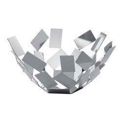 Alessi - Alessi La Stanza dello Scirocco, Fruit Bowl - The Alessi La Stanza dello Scirocco, Fruit bowl is made up of uneven stainless polished steel pieces. You will have your guestes marvelling at the design and detail of this piece of art.Item also available on: