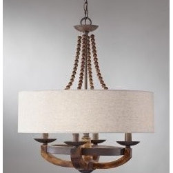 Murray Feiss - Adan 4-lt Single Tier Chandelier - Adan 4-lt Single Tier Chandelier