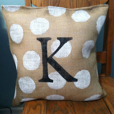 Modern Decorative Pillows by Modern Rustic Girl