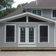 Traditional Exterior by Advanced Improvements LLC