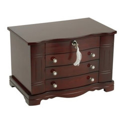Mele Rita Wooden Jewelry Box - 13W x 8.75H in.
