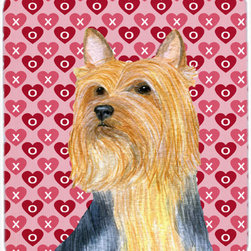 Caroline's Treasures - lky Terrier Hearts Love And Valentine's Day Mouse Pad, Hot Pad Or Trivet - Mouse Pad, hot pad or trivet ... Long lasting polyester surface provides optimal tracking. Sure-grip rubber back. Permanently dyed designs. 7 3/4 inches x 9 1/4 inches. Heat Resistant up to 400 degrees. Let something from the oven rest on the stove before placing it on the mouse pad as it will scorch the fabric on the top of the pad. Use as a large coaster for multiple drinks or a pitcher.