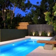 Modern  Modern Backyard Pool