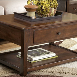 Marion Lift-Top Cocktail Table - Living Spaces