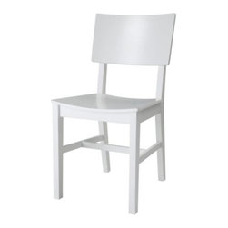 NORVALD Chair - Chair, white