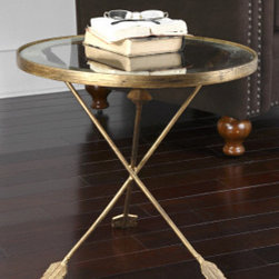 "24275 Aero, Accent Table by uttermost - Get 10% discount on your first order. Coupon code: ""houzz"". Order today."