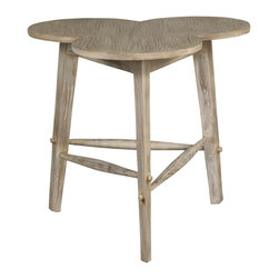 EuroLux Home - New Accent Table Gray French Country - Product Details