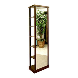 Proman Products - Proman Products Simply Modern Coat Tree in Mahogany - Simply modern coat tree.