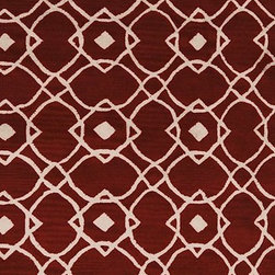 """Surya - Transitional Goa Hallway Runner 2'6""""x8' Runner Red Clay, Parchment Area Rug - The Goa area rug Collection offers an affordable assortment of Transitional stylings. Goa features a blend of natural Red Clay, Parchment color. Hand Tufted of 100% New Zealand Wool the Goa Collection is an intriguing compliment to any decor."""
