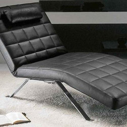 Clio Lounge Chair - This iconic contemporary chaise has removable fabric and adjusts to all kinds of different positions. I think this is just the perfect piece for your husband's or boyfriend's home office. I wouldn't be surprised if you discovered him happily sleeping on it, as it appears to be so very comfortable.