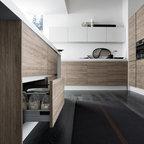 Modern Italian Kitchen Cabinets (by EFFEQUATTRO - Venus) - evaa