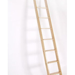 Rolling Ladder - This one has clean lines and a classic look.
