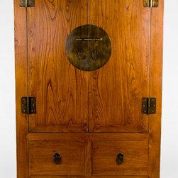 Asian Antique Armoire Cabinet - Asian Antique Armoire Cabinet