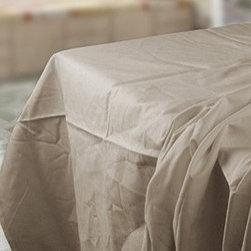Thomaston T180 Bone Full XL Flat Sheet - 81x115 - T180 Bone Full XL Flat Sheet - Thomaston by Ramayan Supply.