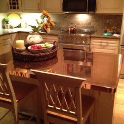 Copper Counter Tops - Riverside Sheet Metal