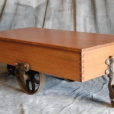 Traditional Coffee Tables by TUNKEL DESIGN