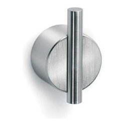 Blomus - Duo Wall Hook, Polished - The modern Duo Wall Hook with its geometric design exudes elegant sophistication without compromising functionality. Designed for easy installation, the stainless steel hook can be used to organize any room in your home.
