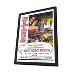 The Sun Also Rises 27 x 40 Movie Poster - Style A - in Deluxe Wood Frame - The Sun Also Rises 27 x 40 Movie Poster - Style A - in Deluxe Wood Frame.  Amazing movie poster, comes ready to hang, 27 x 40 inches poster size, and 29 x 42 inches in total size framed. Cast: Gregory Ratoff