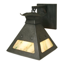 Steel Partners Inc - Hanging Sconce - WESTMORELAND - Every piece we create is unique — handcrafted at our factory in Chehalis, Washington, USA. Due to this, lead times are 2 to 4 weeks.