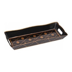 French Bee Black And Gold Vanity Tray - jayes Studio have wide range of products, One among them includes French Bee Black And Gold Vanity Tray