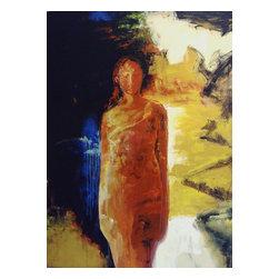 Emerging Figure , Original, Painting - oil on canvas