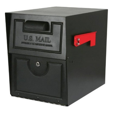 SOLAR GROUP - Mailbox Armory Lock Venetian Bronze - Jumbo size keyless security mailbox, made of heavy-duty steel construction. Combination lock makes it easy to remember your access code and no worries of losing your keys. Ideal for residential or commercial location with high-volume mail deliveries. The Armory features a secure drop door to limit access and prevent mail theft. It has a generous, extra large capacity, which will hold several days worth of mail. Finish: Venetian Bronze.