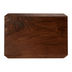Taylor Donsker Design - Organic Walnut Cutting Board - Handcrafted from a single piece of solid wood