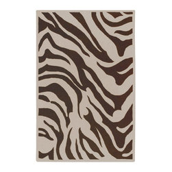 Surya - Surya Goa Hand Tufted Brown Animal Wool Rug, 9' x 13' - With an array of unique designs, Goa characterizes all you will ever want in a beautiful rug. These fashion-forward rugs utilize a color palette that follows effortlessly with today's hottest furniture styles. Designs range from peaceful floral to exciting contemporary themes. This collection is sure to become an essential piece in any home that desires a higher sense of style and fashion. Imported.Material: 100% New Zealand WoolCare Instructions: Blot Stains