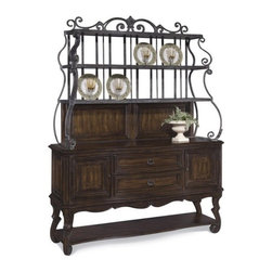 ART Furniture - Coronado Metal Hutch - 72246 - Set includes: Table top, Table base